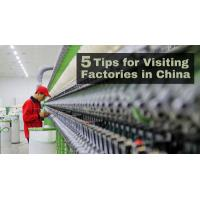 Buy cheap 5 Tips Factory Visit Translator Service Shenzhen Factory Tour from wholesalers