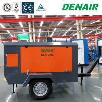 Buy cheap Best Diesel Powered Mobile Tow Behind Air Compressor for Construction Industry from wholesalers