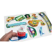 Buy cheap Cartoon Removable Auto Decals Self Adhesive Vinyl Stickers For Cars from wholesalers