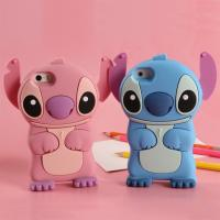 Wholesale Iphone6/6 plus phone cases Stitch silica gel set apple 6 following cartoon phone set from china suppliers