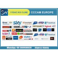 Buy cheap 19.2 E cccam cline account/iks line cccam account for Europe decoder/ cline Cccam from wholesalers