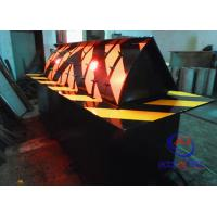 Traffic LED Light IP68 Hydraulic Automatic Road Barriers For Hotel / Airport Entrance Manufactures