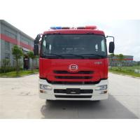 China 6x2 Drive Water Tanker Fire Truck Full Load Quality 26000kg Engine Power 270HP for sale