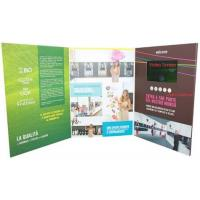 Buy cheap promotional activities video invitation card with upload video / music from wholesalers