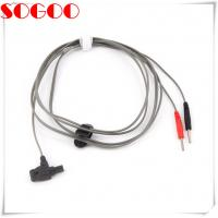 Buy cheap 4mm Safety Test Lead Stackable Cables With Insulated Shrouded Din Plug from wholesalers