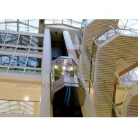 Buy cheap High Speed Elevator Full Glass Sightseeing Panoramic Elevator from wholesalers