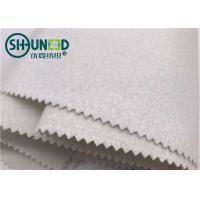 Wholesale 100% Polyester Plain Weave Woven Tie Interlining Fabric Single Side Brushed from china suppliers