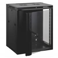 Wholesale 12u Wall Mount Data Cabinet Wall Network Cabinet Customized Logo Door Design from china suppliers