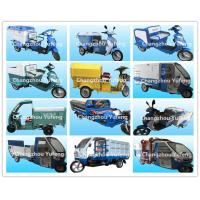 Buy cheap Battery Operated Electric Cargo Tricycle , Municipal Waste Collection Truck from wholesalers