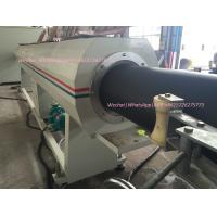 China PE/HDPE Plastic Water/Gas Supply Pipes Extruder Production Line on sale