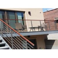 Buy cheap CE Stainless Steel Balustrade Systems Porch Stair Railing End Cap House Railing from wholesalers