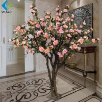 Wholesale Indoor Decoration Artificial Rose Tree 1.8m Height Customized Design from china suppliers