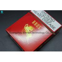 Buy cheap Red Offset Printing Cardboard Cigarette Cases For 25 Pieces Packaging from wholesalers