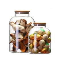 Buy cheap Mouth Blown 3200ml Borosilicate Glass Storage Containers from wholesalers