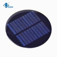 Buy cheap 0.5W PET Solar Panel 5.5V Epoxy Resin Solar Panel for intelligence toy ZW-R80 solar panel system for dc electric motor from wholesalers