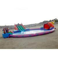 Colorful PVC Tarpaulin Aqua Inflatable Water Pool For Entertainment Manufactures