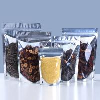 Buy cheap Fashion And Environmental Clear& Aluminum Foil Pouch Stand Up Zipper Bags, Food Storage from wholesalers