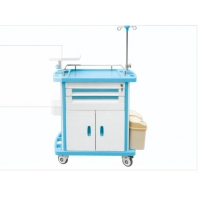 Buy cheap Wear Resistant Two Drawer Lightweight Emergency Crash Cart from wholesalers