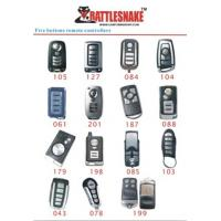 Buy cheap 5 button Car Alarm Remotes control controlle, 433Mhz, 75m - 100m distance with CE, ISO9000 from wholesalers