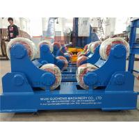 Buy cheap Standard 10T Pressure Vessel Vessel Turning Rolls / Pipe Rotators For Welding product