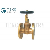 Buy cheap Class 150 10K Non-rising Stem Bronze Material JIS Marine Gate Valve from wholesalers