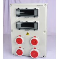 Buy cheap IP44 16A IEC Standard PC Material Power Supply Box Temporary Maintenance Box from wholesalers