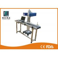 Wholesale Light Weight Small Laser Engraving Machine , CO2 Flying Laser Marking Machine from china suppliers