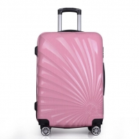 Wholesale Pink Push Button ISO9001 Business Travel ABS PC Luggage from china suppliers