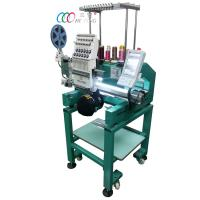 Wholesale Single Head Single Sequin Cap / Shirt / Flat Computer Embroidery machine from china suppliers