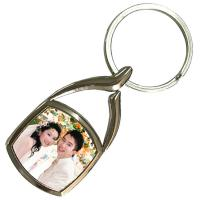 Buy cheap Christmas Ornament Personalized Metal Keychains Surfboard Sublimation Blank from wholesalers