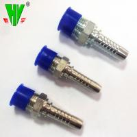Buy cheap Hydraulic fittings manufacturers supply rubber pipe connectors pressure hose fittings from wholesalers