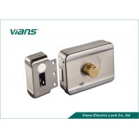 Buy cheap Electric Rim Door Lock With Brass Cylinder , Electronic Door Locks For Homes from wholesalers