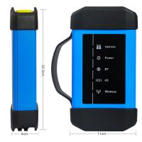 Buy cheap Wifi Bluetooth Heavy Duty Truck Diagnostic Tool Original Launch X431 V+ HD3 from wholesalers