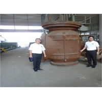 Buy cheap 600LB 48 Inch Top Entry Valve With Gas - Liquid Linkage Actuator from wholesalers