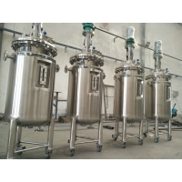 Buy cheap 100L, 200l, 300L ,500 L Stainless Steel Steam Jacketed Liquid Mixing Tank With Agitator from wholesalers
