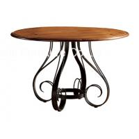 Buy cheap Antique Dusky Charcoal Finish Restaurant Dining Tables Set Furniture Uphostery from wholesalers