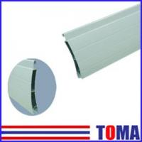 Wholesale 55mm Extruded Double Layer Roller Shutter Slat from china suppliers
