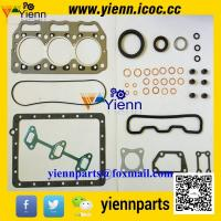 Buy cheap Yanmar 3GMF 3GMD marine engine overhual repair full gasket kit 728370-92600 with cylinder head gasket 128370-01331 from wholesalers