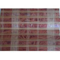 Buy cheap Industrial Printed Bamboo Blinds , Bamboo Roll Up Curtains Office Use from wholesalers