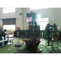 China Steel Bar Straightening Press Machine 100T Bending Force  900mm Length Worktable on sale