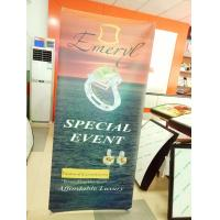 Buy cheap Waterproof Outdoor X Stand Banners Display Single Side 80X180cm from wholesalers