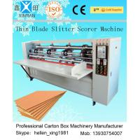 Buy cheap Automated Paper Carton Vertical Cutting Machine / Paper Slitter Scorer Machine from wholesalers
