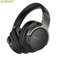 Buy cheap Ausdom ANC8 Top Selling Over Ear Super Durable Carrying Case Active Noise Cancelling Bluetooth Headphone With Microphone from wholesalers