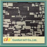 Jacquard Polyester Auto Upholstery Fabric Anti-Static with Printing Manufactures
