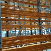 Buy cheap American Type VNA Racking System Cold Room Pallet Storage   Electrostatic Powder Coating from wholesalers