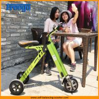 36V 250W Foldable Electric Scooter Light Weight Portable Electric Bicycle Ebike Manufactures