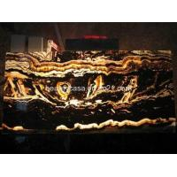Buy cheap Tiger Vein Onyx ,Natural Marble Products,LED Lighting from wholesalers