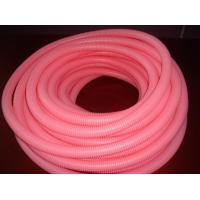 Buy cheap Pink Corrugated Flexible Tubing PP PE PA  Insulation Tubing Factory from wholesalers