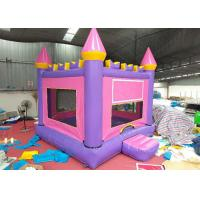Buy cheap Birthday Adult Size Bounce House / Outdoor Commercial Inflatable Bouncers from wholesalers
