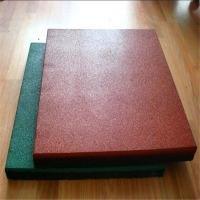 Buy cheap Heavy duty Outdoor playground rubber flooring / rubber mat from wholesalers